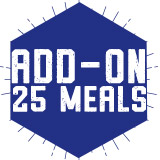 Add-On 25 Meals for $180